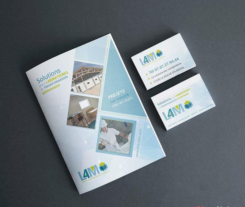 L4M : identité visuelle, site internet et webmarketing
