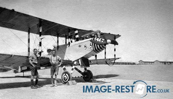 Royal Flying Corps Egypt rare insight into Desert accidents