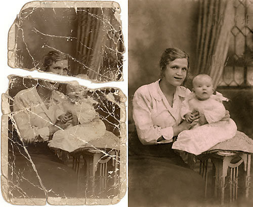 Photo Restoration and retouching – An introduction