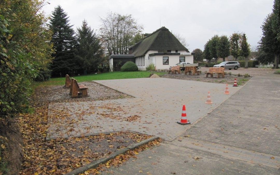 Erweiterung des Freizeitplatzes zum Bürgerhaus Gemeinde Klappholz