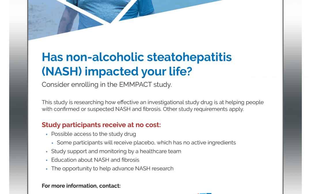 Has non-alcoholic steatohepatitis  (NASH) impacted your life?