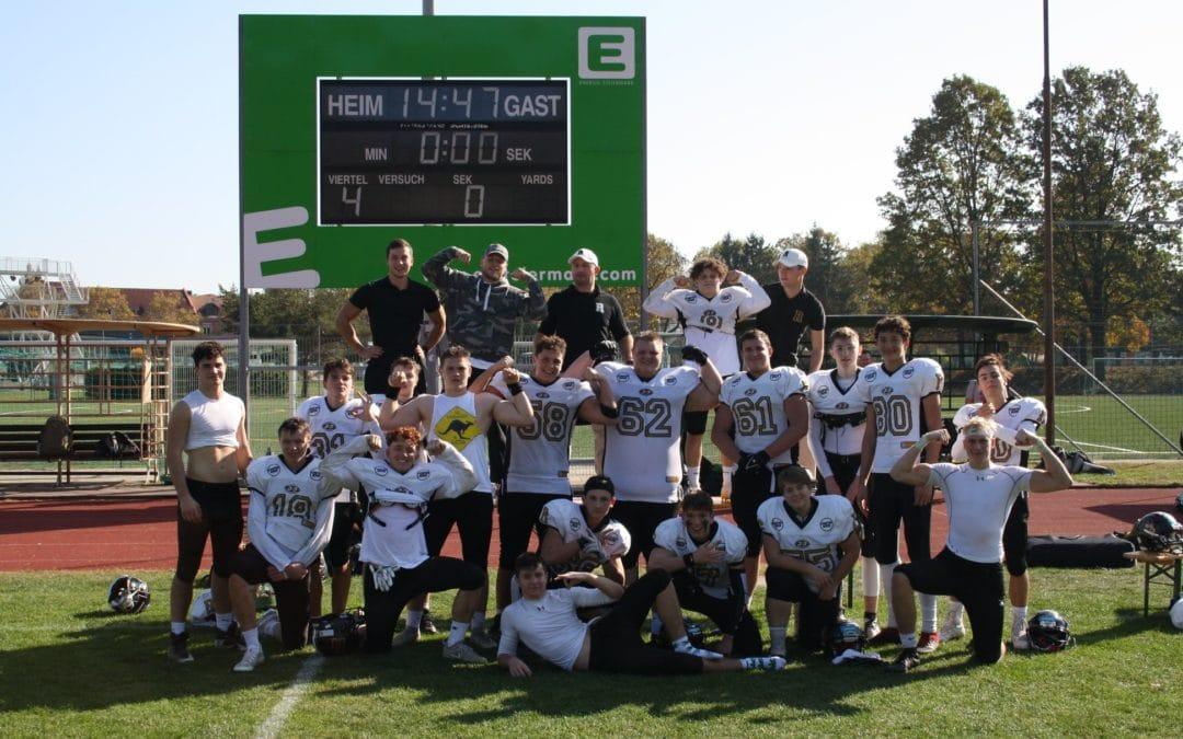 Historischer Sieg der U18 in Graz