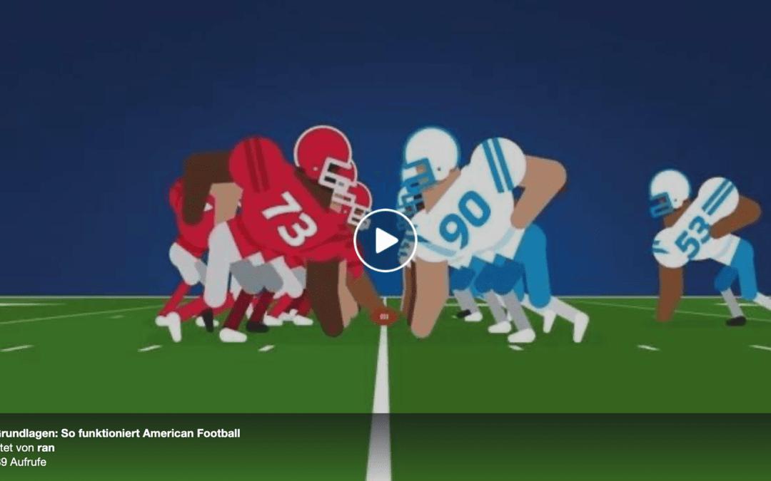 Eine kurze Einführung in die Regeln des American Football