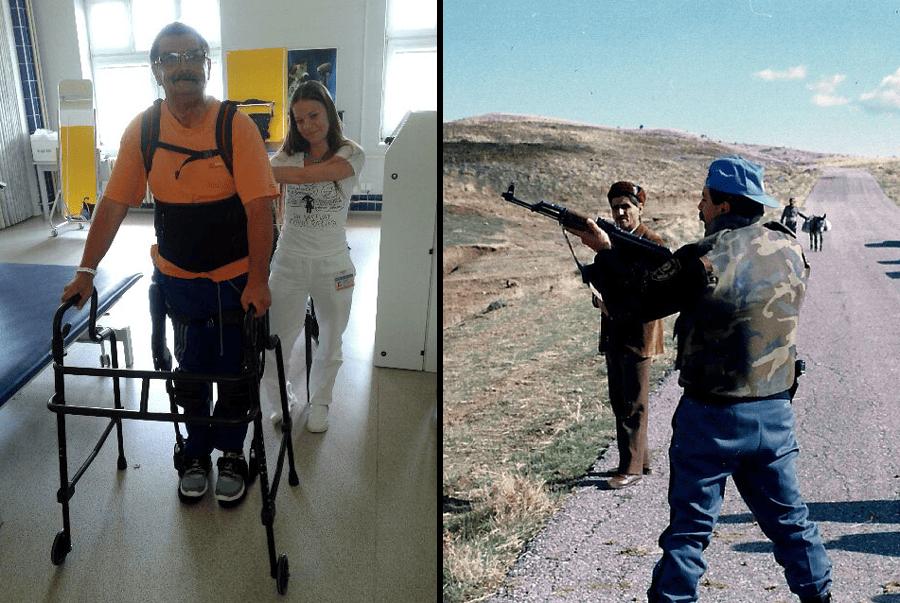 Další válečný veterán na speciální rehabilitaci