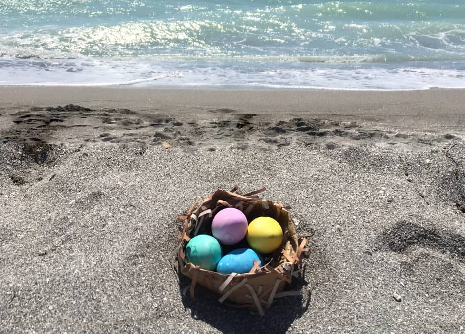 3 Beachy Easy Easter Décor Ideas