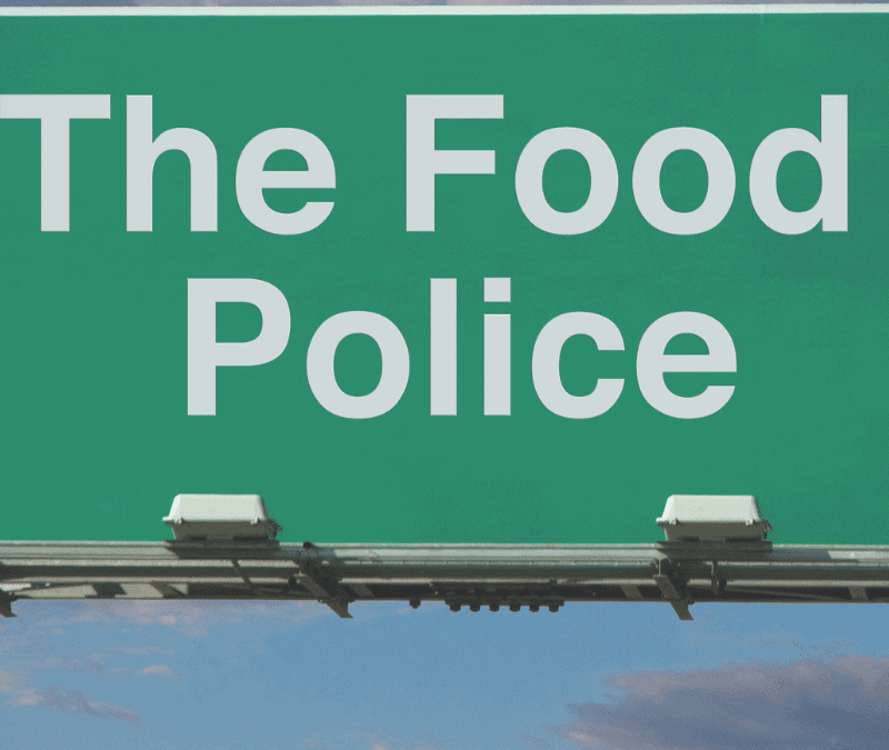 How to Survive The Food Police This Holiday Season