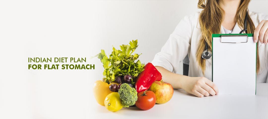 Indian Diet Plan for Flat Stomach