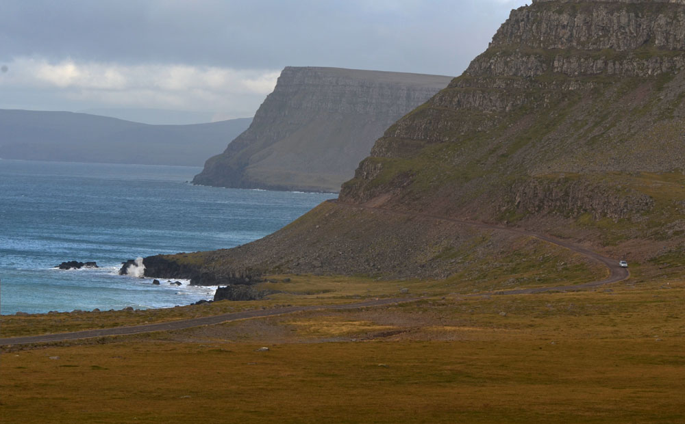 Winding Through Iceland's Westfjords to Látrabjarg Cliffs & Taking the Stykkishólmur Ferry