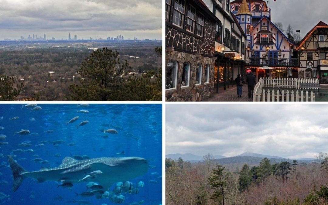 Top 4 Things to do Near Atlanta Georgia
