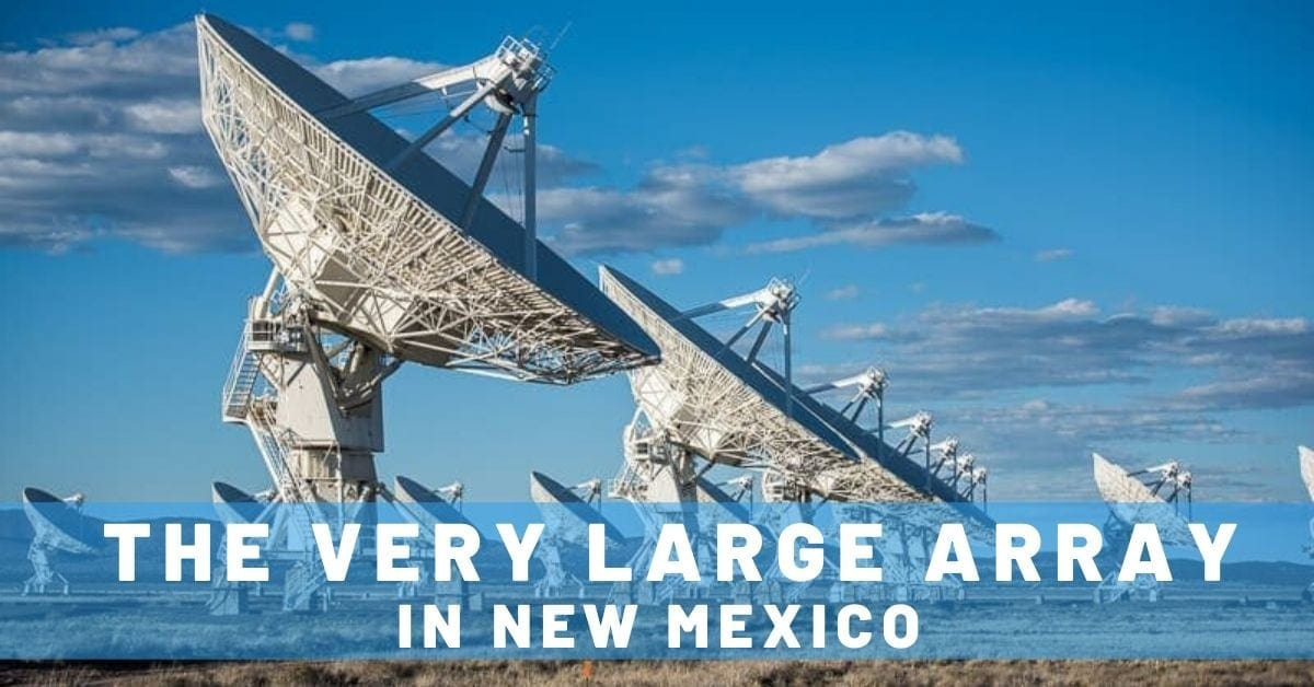 Feeling Microscopic at the Very Large Array in New Mexico