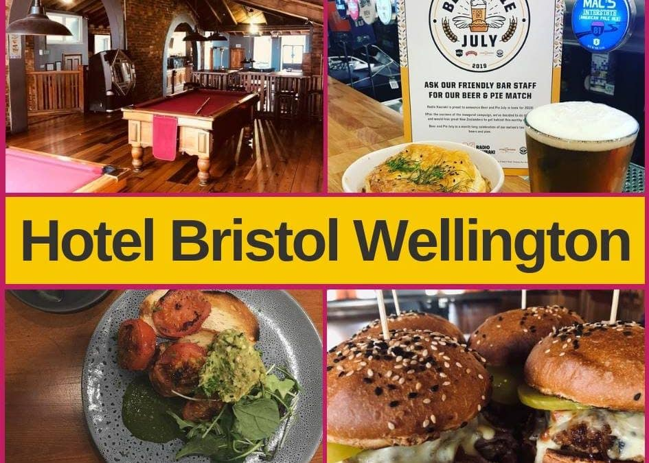 Hotel Bristol Wellington – Bar, Menu and Pokies Gaming Lounge