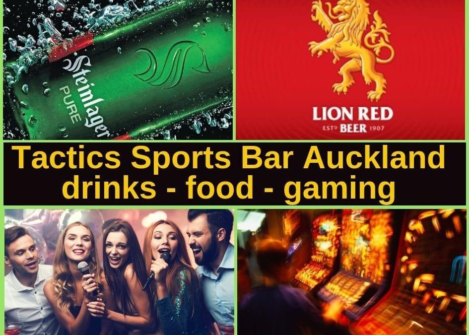 Tactics Sports Bar & Pokies Gaming Lounge in Manukau South Auckland