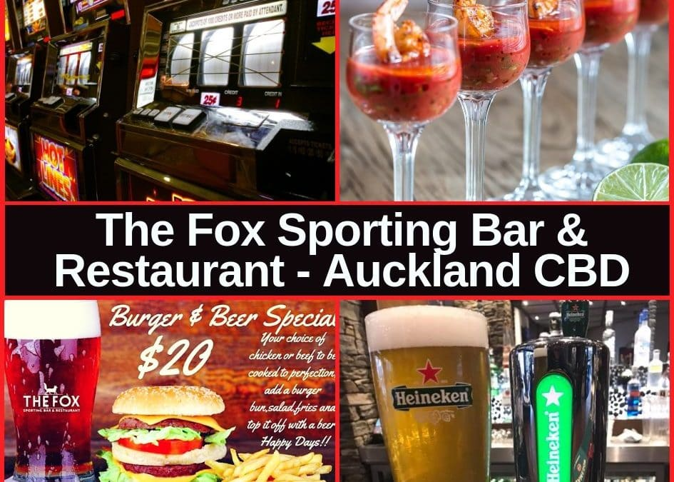 Fox Sporting Bar & Restaurant Auckland CBD Guide