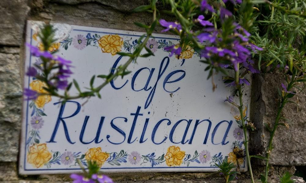 Cafe Rusticana Webseite