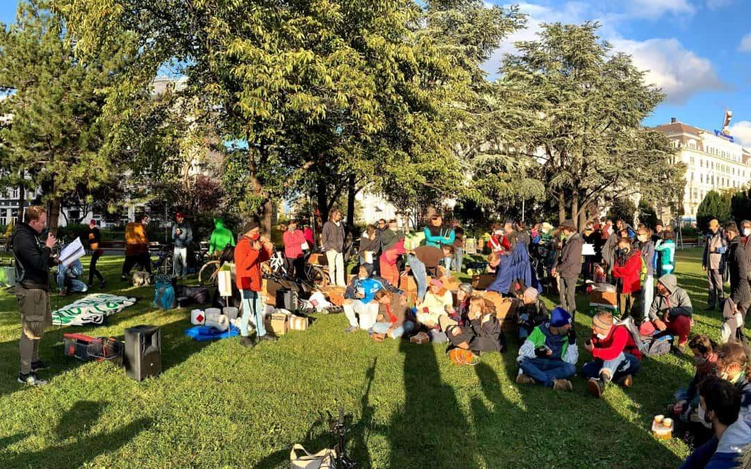 Sigmund-Freud-Park, 26. September: Start der Rebellionswelle