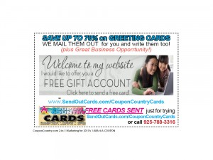 Custom GREETING CARDS SENT FOR LESS,Faster – Automated Card System – Try One FREE