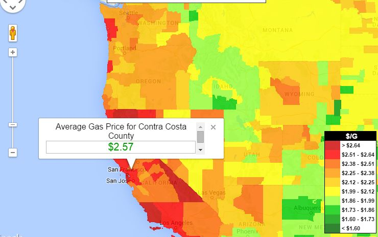California Gas Prices – Find Cheap Gas Prices in California
