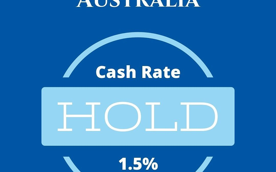 RBA leaves the Cash Rate on Hold at 1.5%