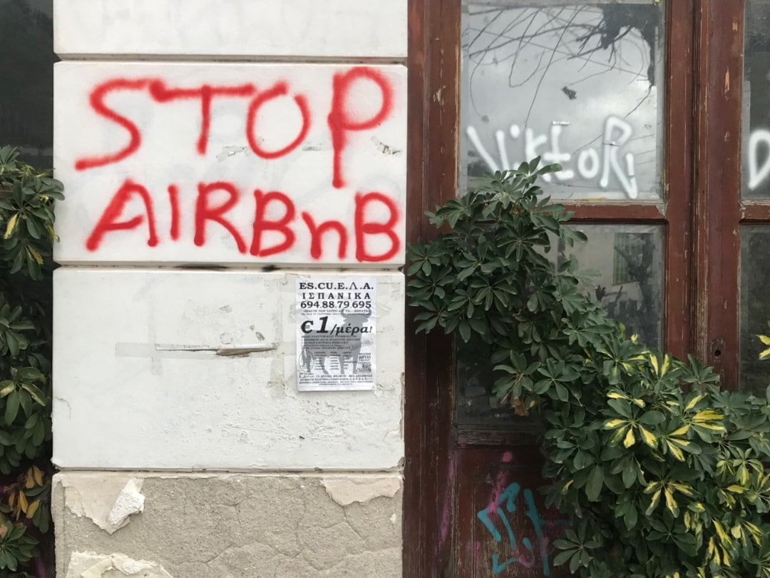 Stop Airbnb, Athens, Greece - Experiencing the Globe