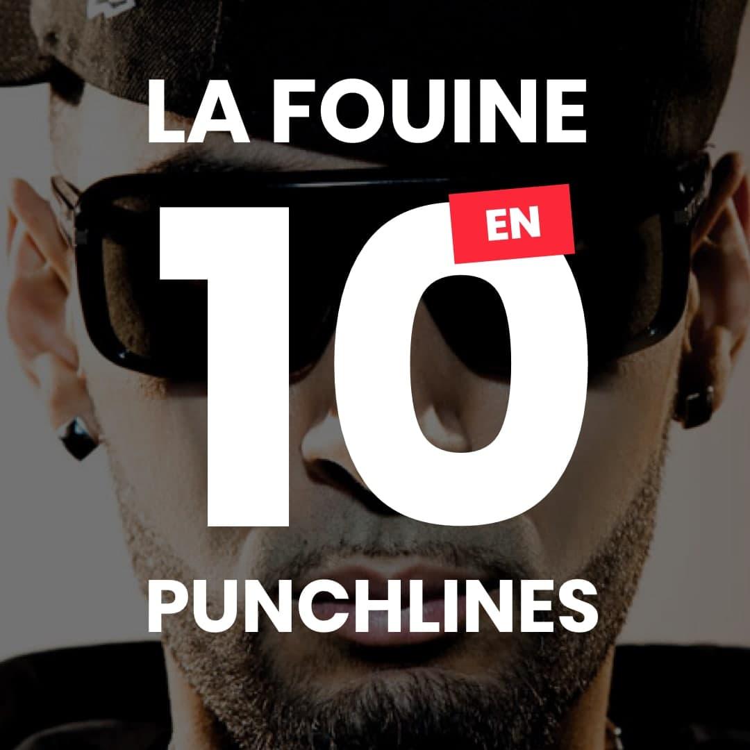 La Fouine en 10 Grosses Punchlines