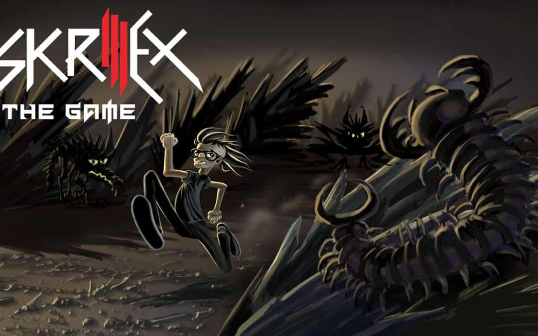 Skrillex video game character