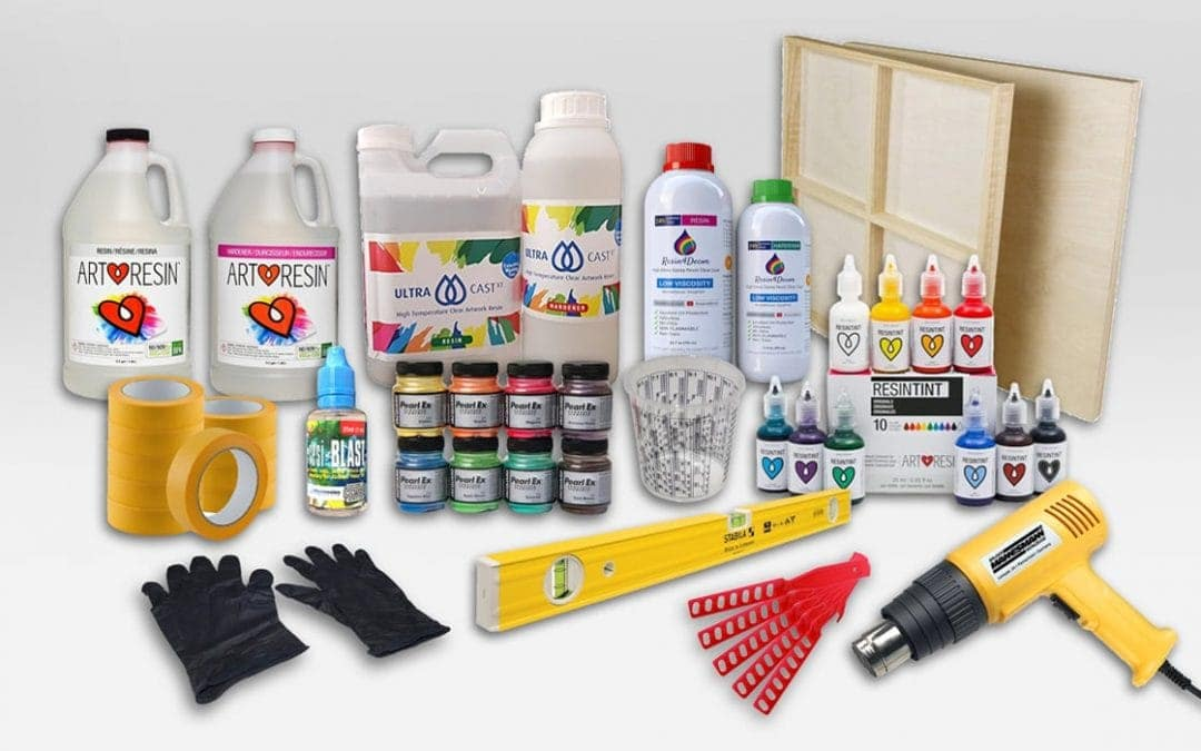 Resin Art Supplies: What you need for your resin painting