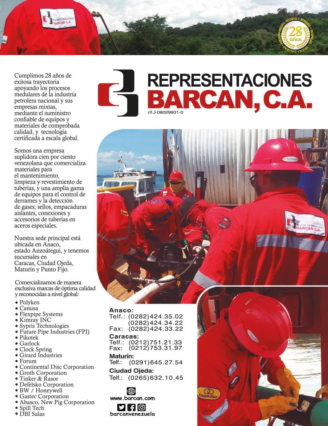 Representaciones Barcan