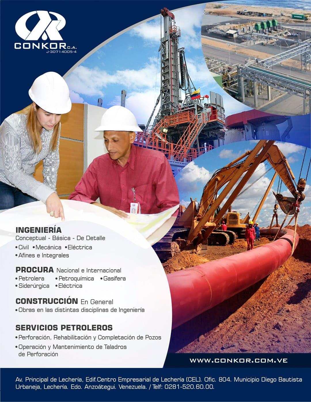 CONKOR. Ingeniería, Procura, Construcción, Servicios Petroleros