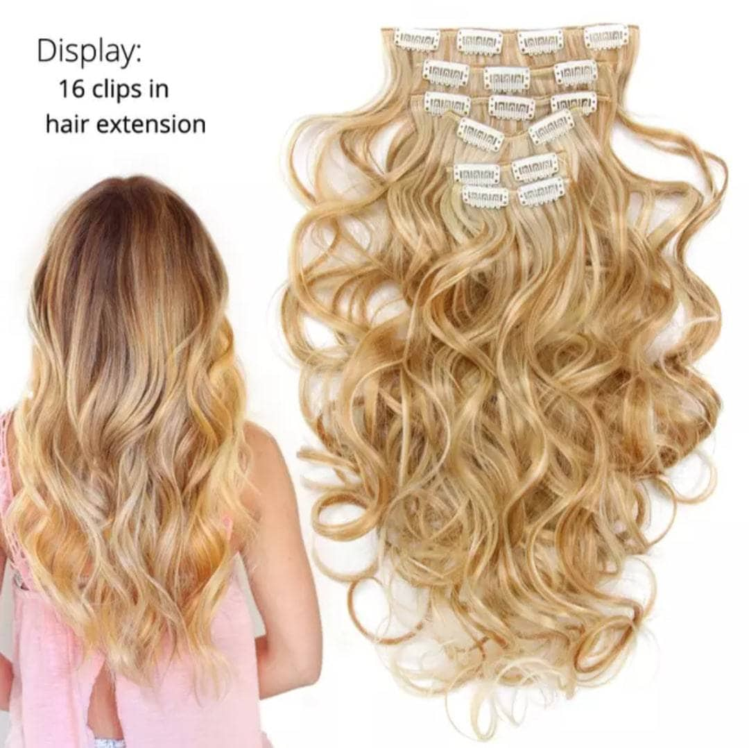 Popular Hairpieces Ombre Colors hair extensions