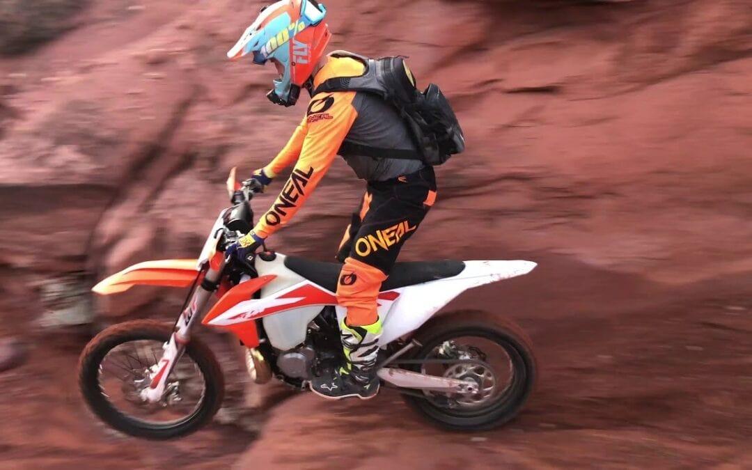 KTM 250 XC Sam Jump