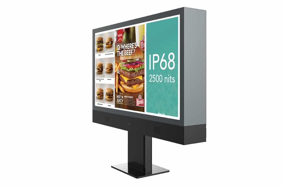 keewin+IP68+drive+thru+menu+board+kiosks+75+inch-3