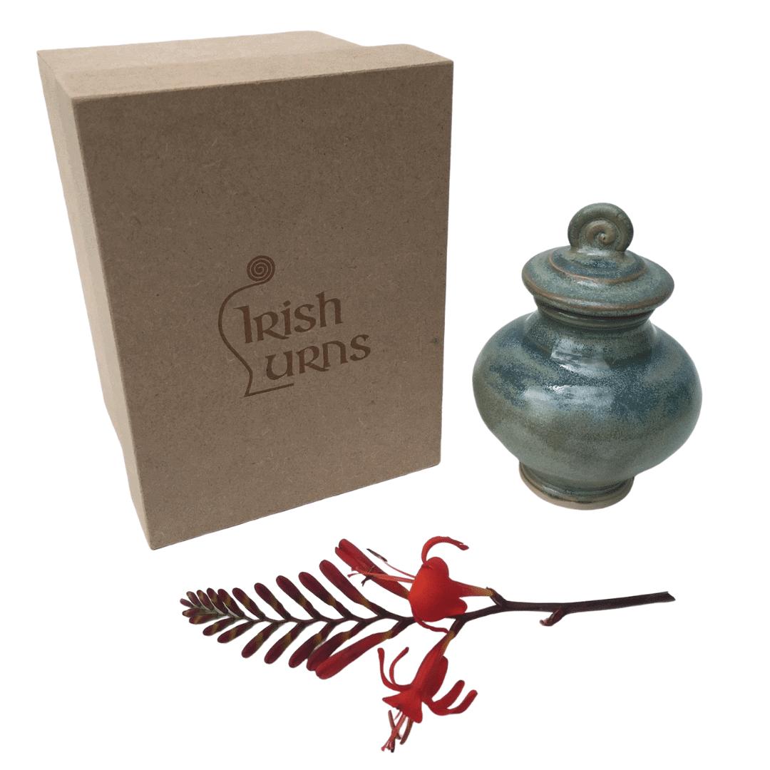 small mini keepsake urn