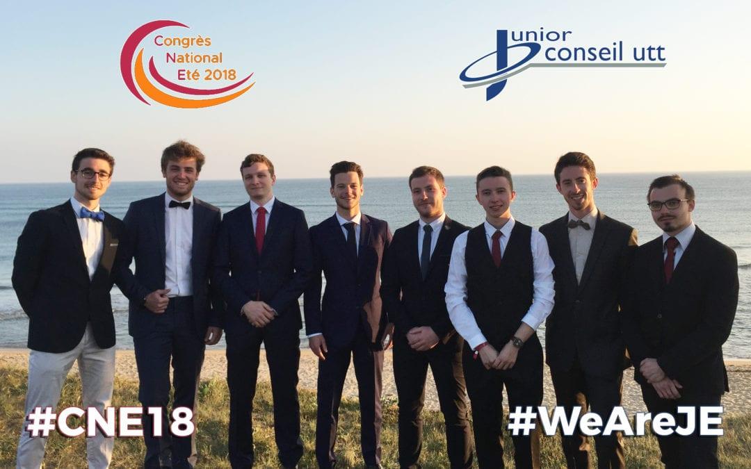 Junior Conseil UTT au Congrès National d'Été 2018