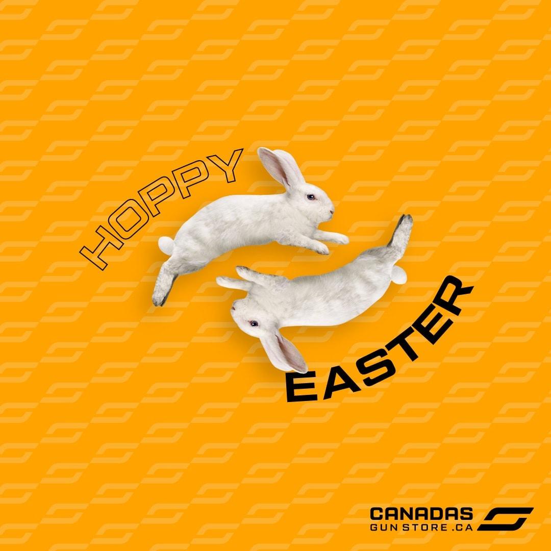 Hoppy easter, hunter!