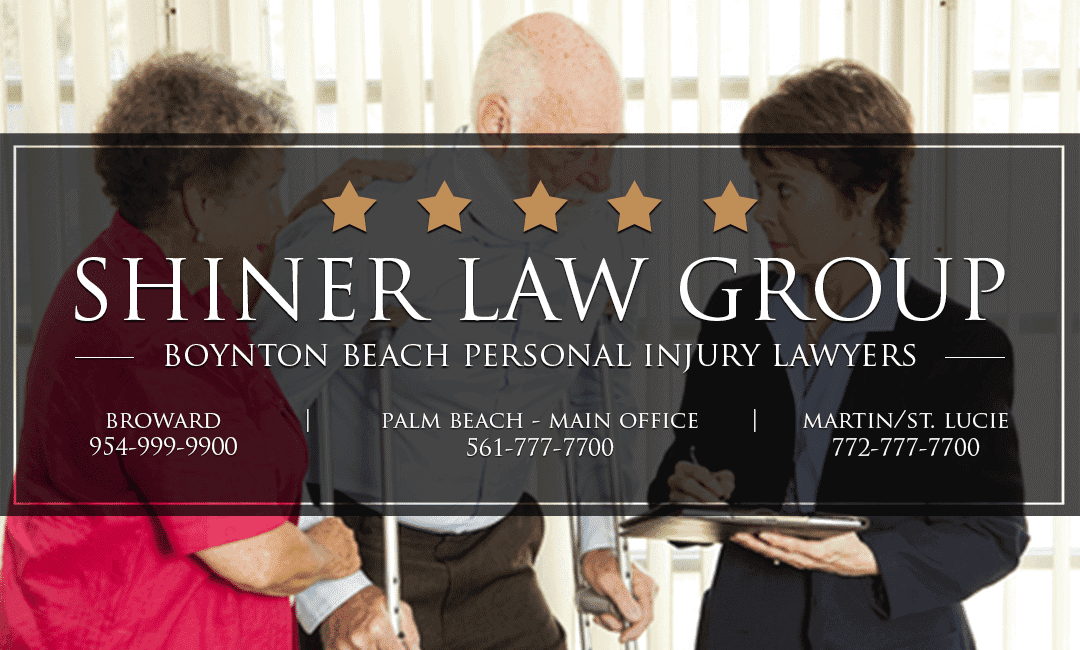 Boynton Beach Personal Injury Attorneys Shiner Law Group