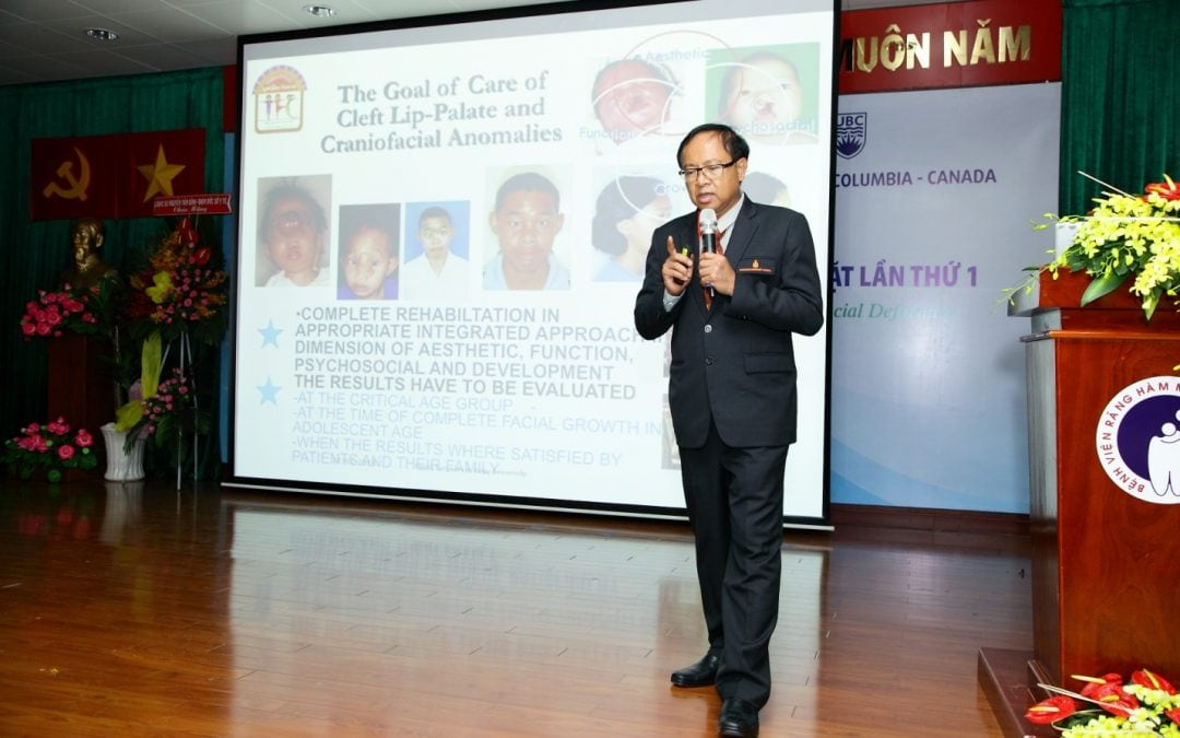 Vietnam's First Comprehensive Cleft Care Congress