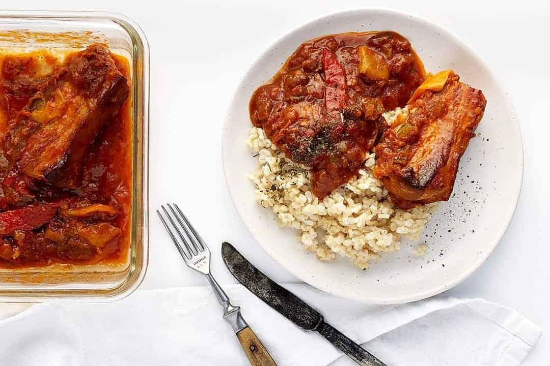 Pork Belly in Tomato Sauce