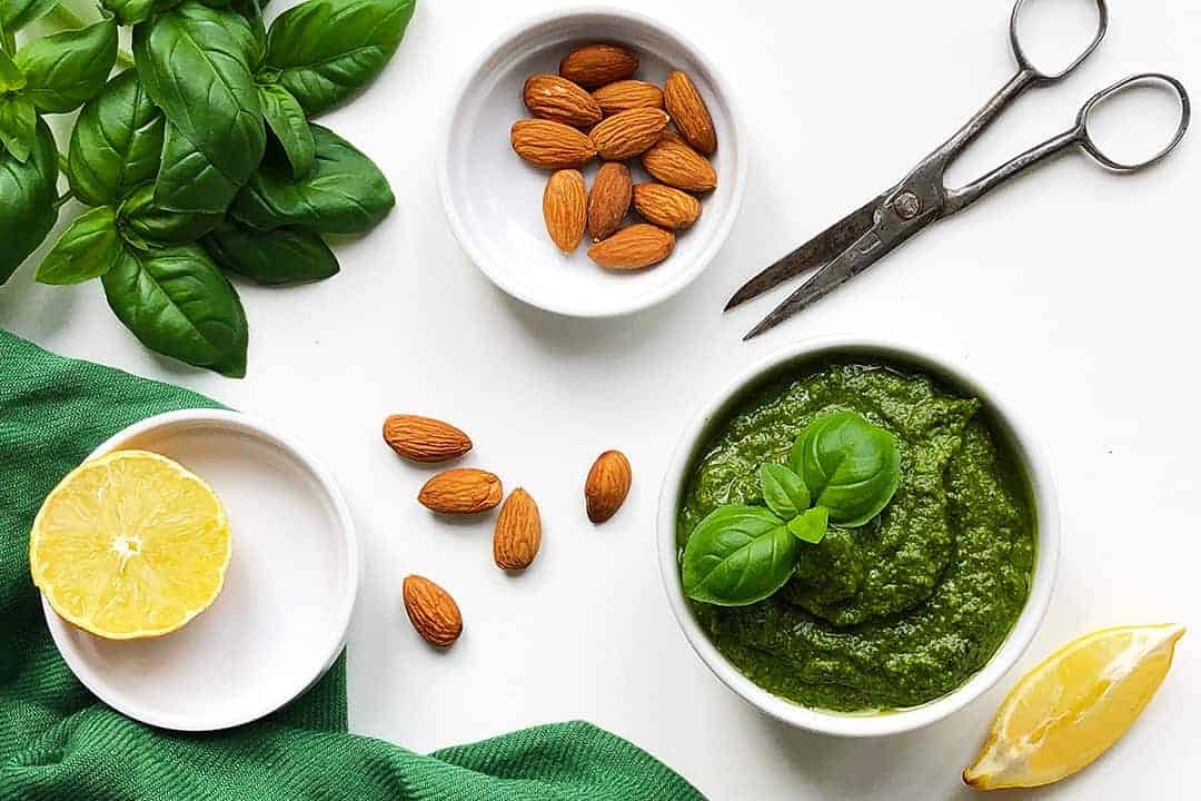 How to make pesto from scratch.