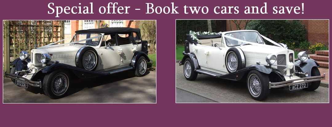 Book 2 cars and save