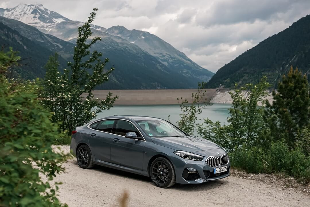 BMW 220d Gran Coupé M Sport in Storm Bay Metallic & Shadow Line