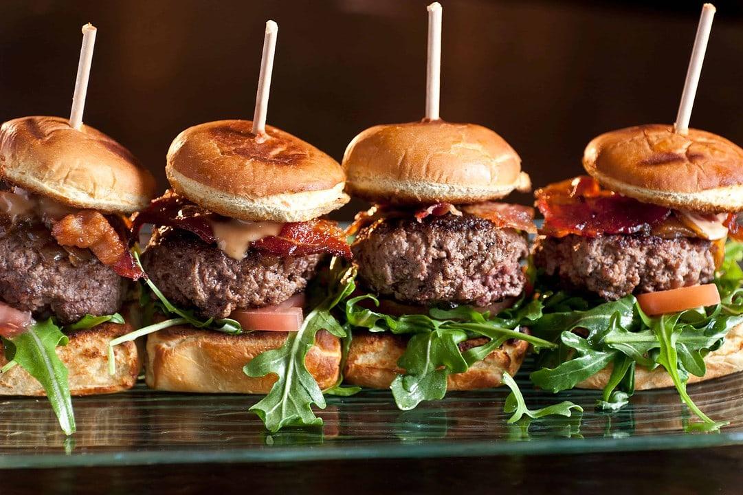 Watch Party eats: Mini Burgers