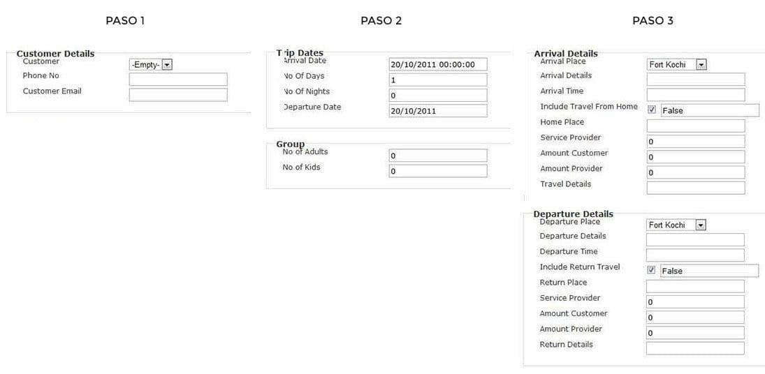 Optimización de formularios web