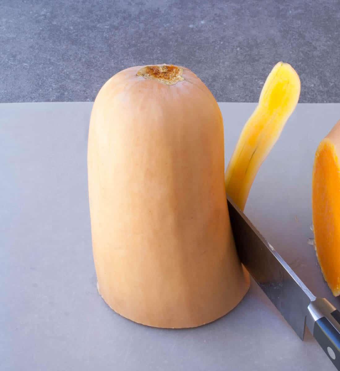 How to Cut Butternut Squash-4