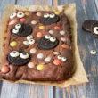 Brownies oreo di Halloween Bimby