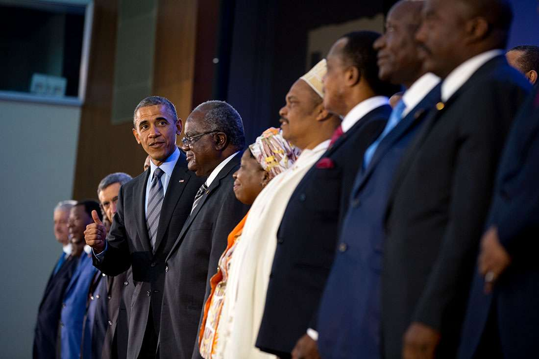 Obama African Leaders