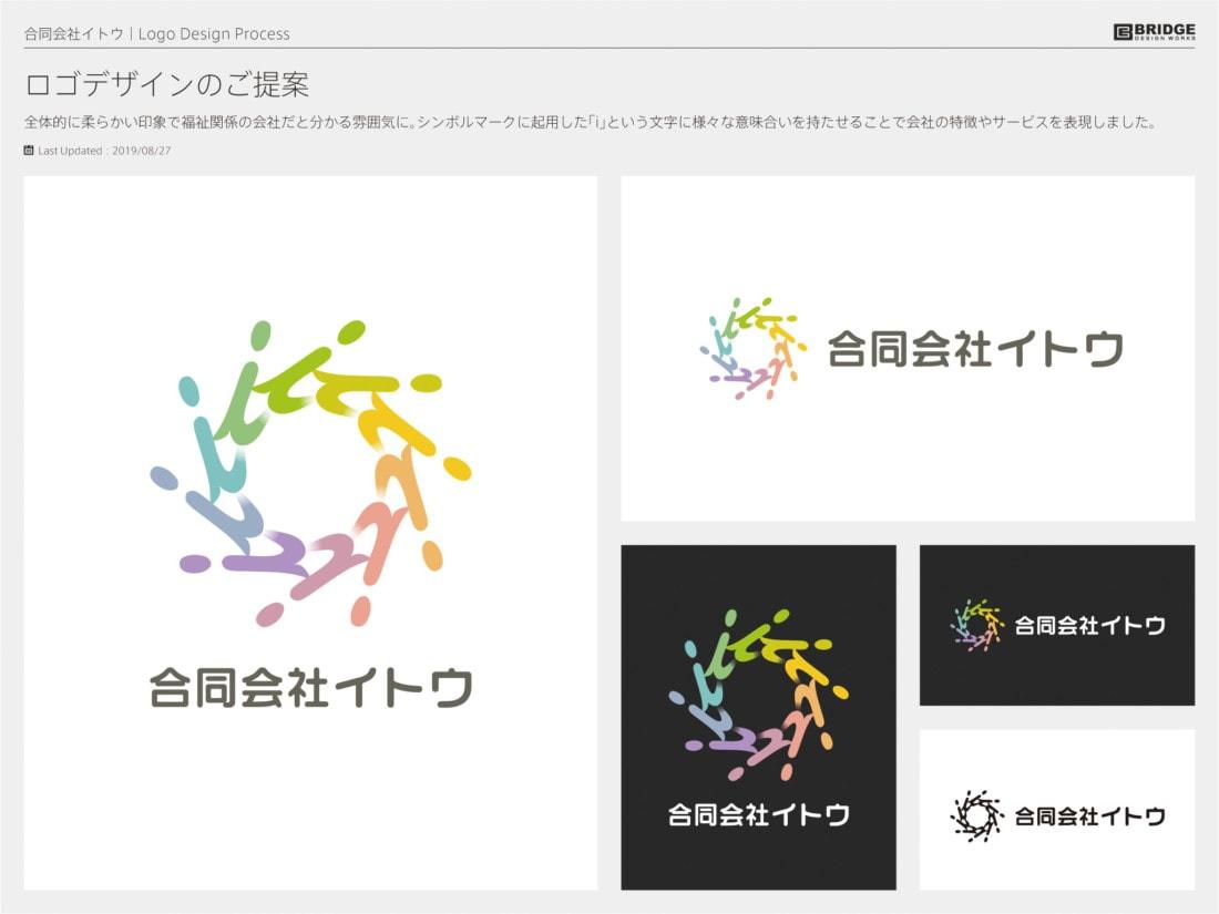 コーポレートロゴデザイン 合同会社イトウ
