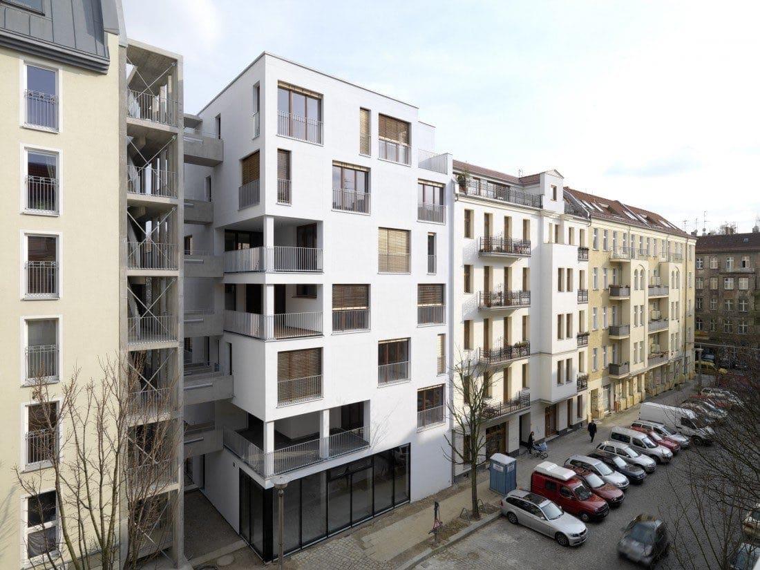 e3 Projekt Esmarchstrasse 3 Architekten Kaden/Klingbeil Foto:Bernd Borchardt