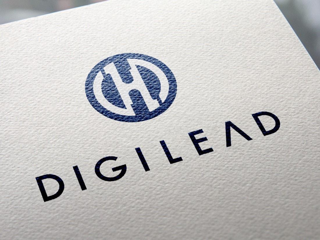 沖縄でアプリ開発を行っている企画開発会社「DIGILEAD(デジリード)」ロゴデザイン