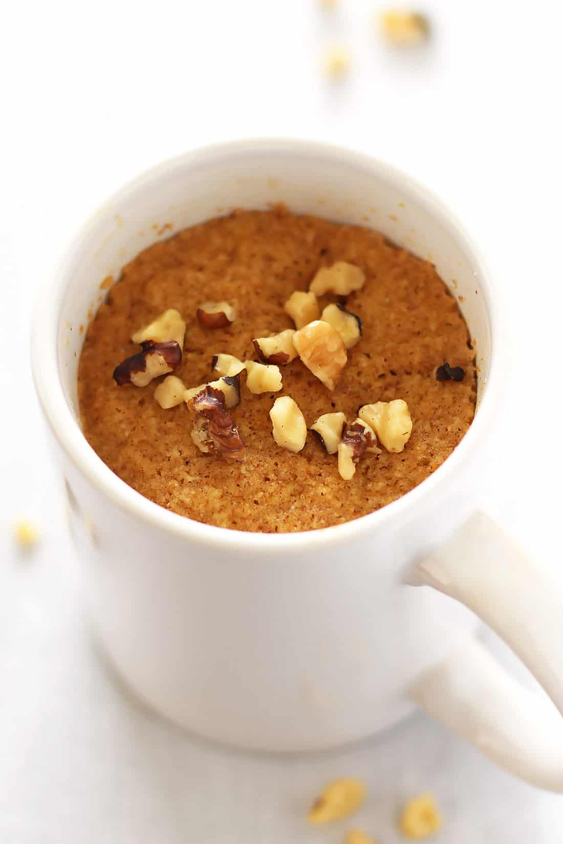 Low Carb Pumpkin Mug Cake