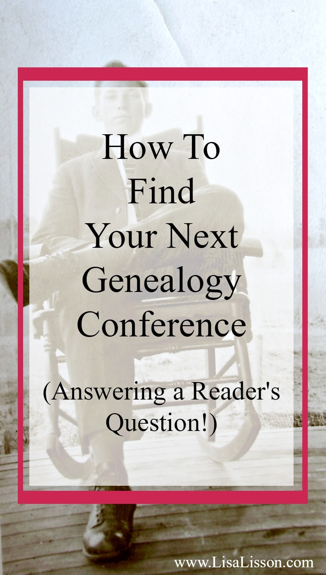 Attending a genealogy conference - big or small- is a great way to further your genealogy education. As you learn new strategies you will sharpen your research skills and make steady progress toward tearing down your genealogical brick walls.